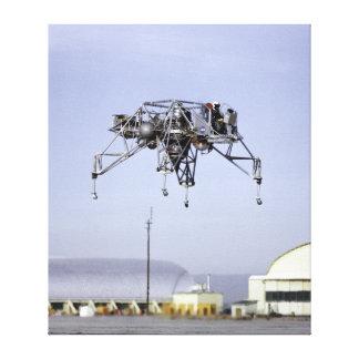 Vehículo de la investigación del aterrizaje lunar  impresión en tela