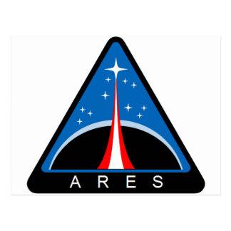 Vehículo de lanzamiento de Ares Tarjeta Postal