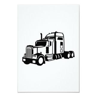 """Vehículo del camión invitación 3.5"""" x 5"""""""
