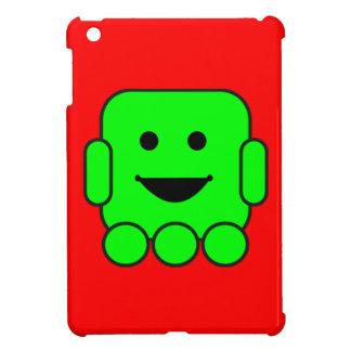 vehículo feliz androide CA del verde del robot rob