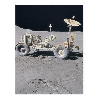 Vehículo lunar tarjetas postales