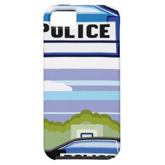 Vehículo policial iPhone 5 carcasa