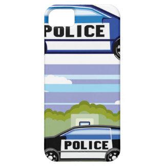 Vehículo policial iPhone 5 funda