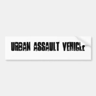 Vehículo urbano del asalto pegatina para auto