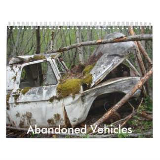 Vehículos abandonados calendario