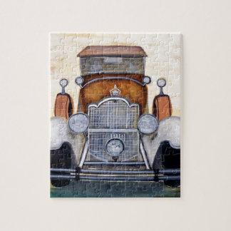 Vehículos clásicos del vintage del coche rompecabezas