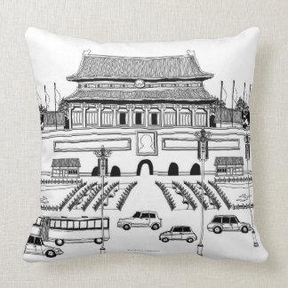 Vehículos en pagoda almohadas
