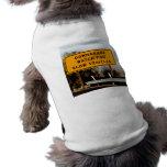 Vehículos lentos del Downgrade Camiseta De Perrito