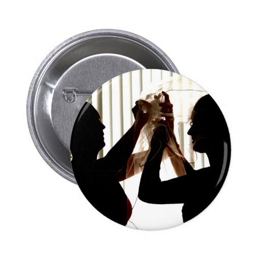 Veil Adjust Bride Outline Photograph Design Pins