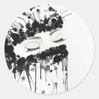 Veil Classic Round Sticker
