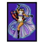 Veil Dancer Postcard
