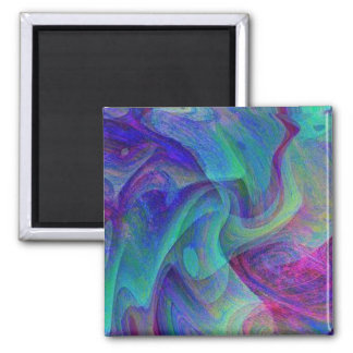 Veil Dancing 2 Inch Square Magnet