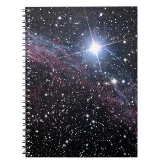 Veil Nebula Spiral Notebook