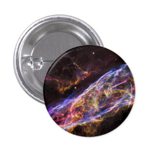 Veil Nebula Supernova Remnant Pinback Button