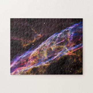 Veil Nebula Supernova Remnant Puzzle