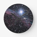 Veil Nebula Wallclock