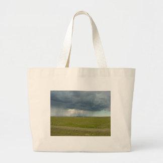 Veil of Rain Jumbo Tote Bag