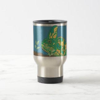 Veiled chameleon drink ware 15 oz stainless steel travel mug