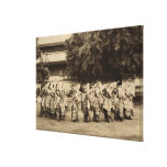 Veiled dancers at Mandalay, Burma Gallery Wrap Canvas
