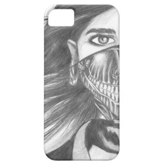 Veiled Face of a Women iPhone 5 Case