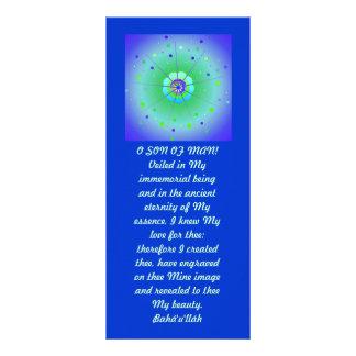 Veiled Hidden Word Quote Rack Card