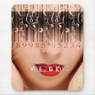 Veiled Kiss Mouse Pad