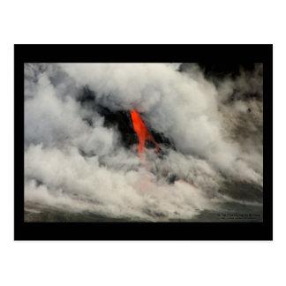 Veiled Lava 2 - Hawaii Postcard