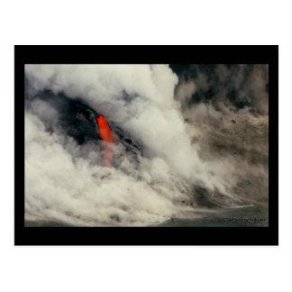 Veiled Lava - Hawaii Postcard