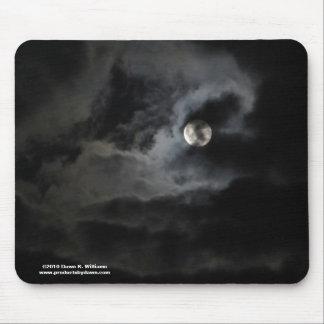 Veiled Moon Mousepad