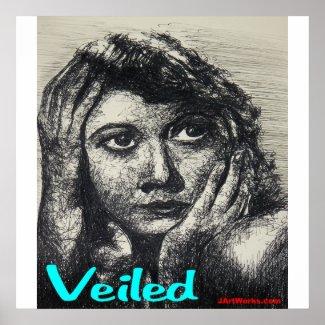 Veiled print