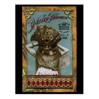 Veiled Prophets Vintage Postcard