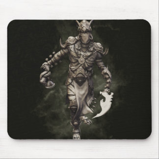 Veiled Warlock Mouse Pad