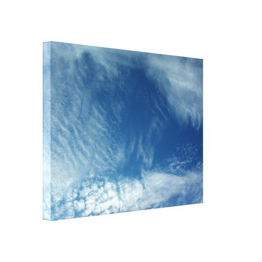 Veils in the Sky Canvas Print