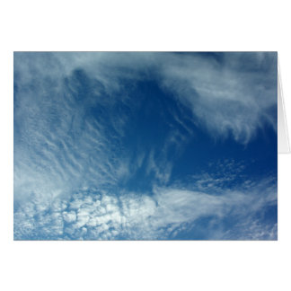 Veils in the Sky Greeting Card