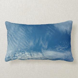Veils in the Sky Throw Pillow