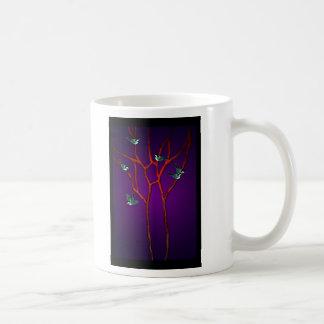 Vein Birds Classic White Coffee Mug
