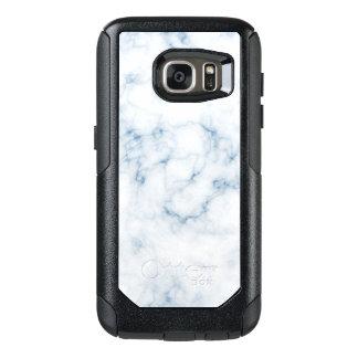 Vein Marble White w Blue Otter Box OtterBox Samsung Galaxy S7 Case