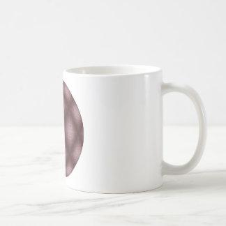 Veined Burgundy Coffee Mug