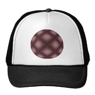 Veined Burgundy Trucker Hat