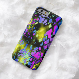 Veined Multicolor on Black iPhone 6 case