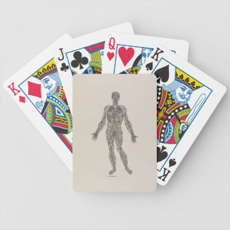 Veins and Arteries Bicycle Playing Cards
