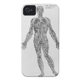 Veins and Arteries system (b/w print) iPhone 4 Cover