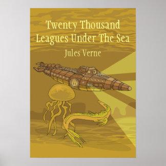 Veinte mil ligas debajo del Mar Jules Verne Impresiones