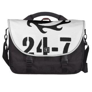 Veinticuatro siete bolsas para portatil