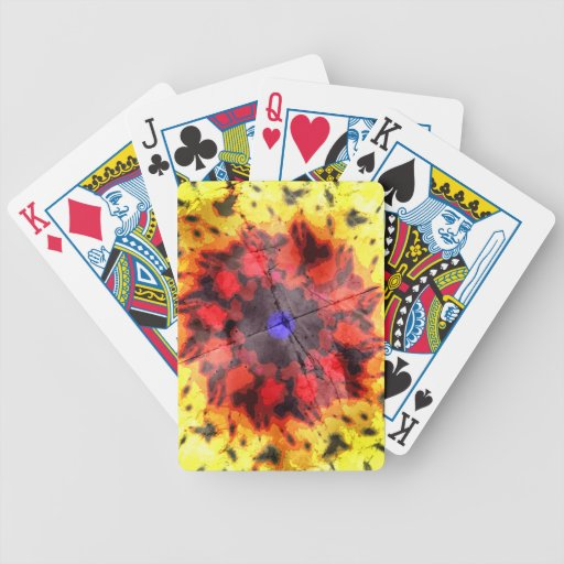 Veintitrés grados de excéntrico baraja cartas de poker