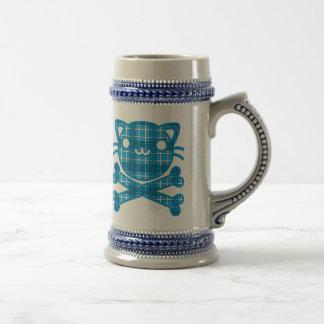 Veintiuna (gato) jarra de cerveza