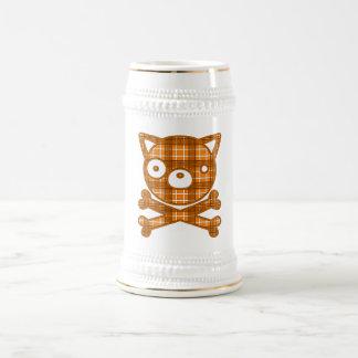 Veintiuna (perro) jarra de cerveza