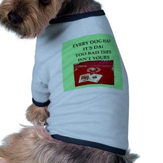 veintiuna camisa de perrito
