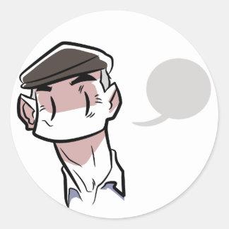 Véio Classic Round Sticker