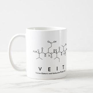 Veit peptide name mug